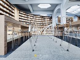 红点大赛参赛作品-图书馆