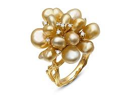 《旋转盛开的花》珍珠戒指制作过程欣赏!