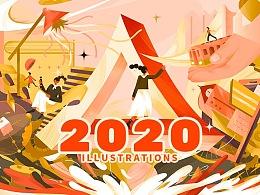 2020-插画作品总结