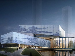 世茂深港国际中心体验馆环境导向标识设计
