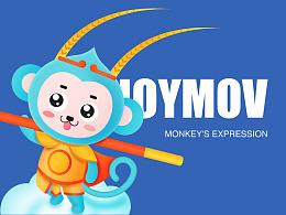 ENJOYMOV畅飞网络飞猴吉祥物设计