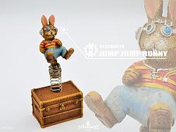 蒸汽工厂STEAMARTS全新系列JUMP JUMP系列 -跳跳兔