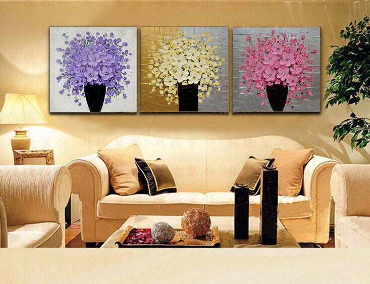 油画风景纯手绘美画欧式客厅有框装饰画手工山水油