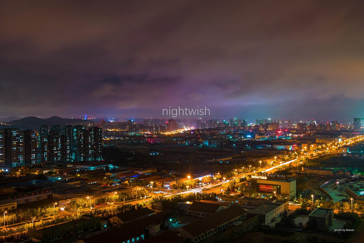 夜景 青岛