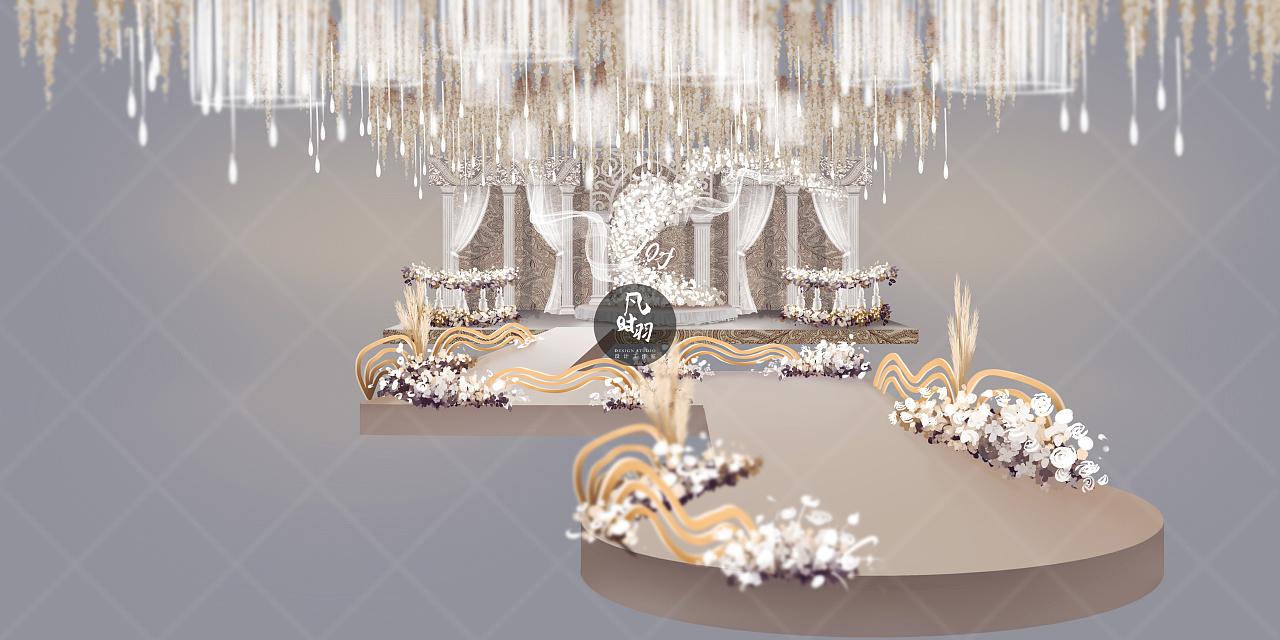 婚礼手绘 — 电脑 「圆舞曲」