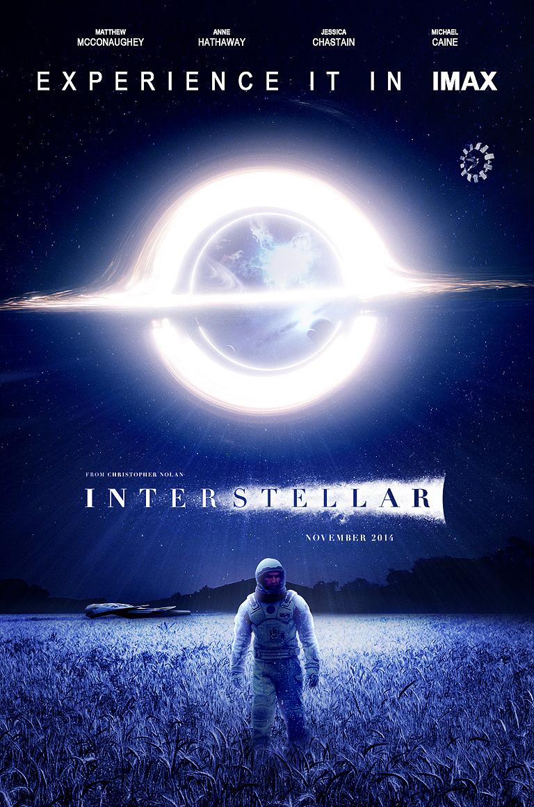 向诺兰致敬,《星际穿越》合成海报(附制作过程)