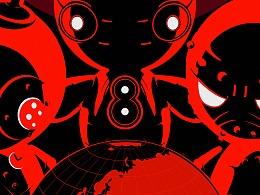 breave8(勇敢8号机器人)产品海报及动画短片