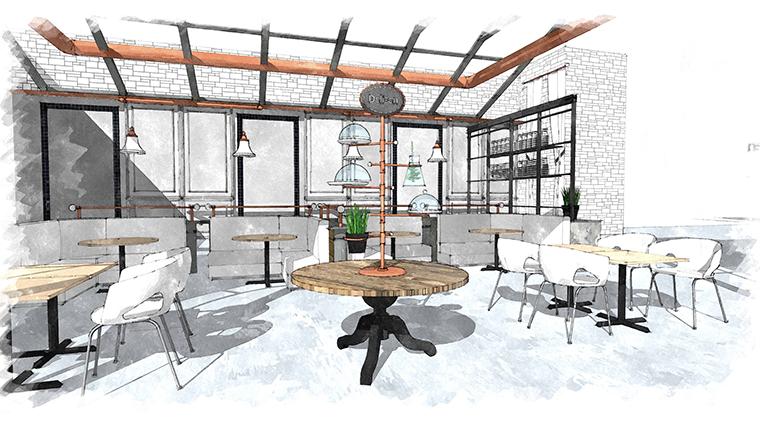 郝丽思咖啡厅设计-庆阳特色咖啡厅设计|庆阳专业特色咖啡厅设计公司
