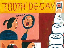 漫画-蛀牙