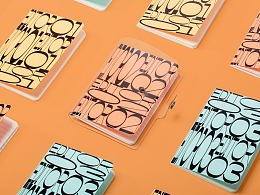 PVC封面手帐套装设计以及手帐产品拍摄