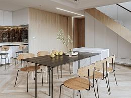 日常搬砖系列-VR现代复试客餐厅