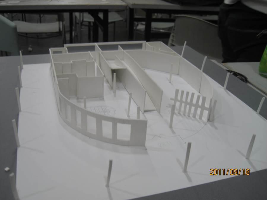 萨伏伊别墅别墅|oneshow户外|其他|WoW_Z-模型美式廊图片