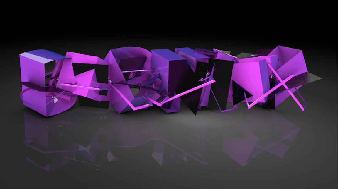 为贝尔尼尼文创公司制作的三维特效logo 展示方案2图片