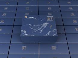 中盐的包装礼盒
