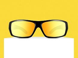 宁波太阳镜产品摄影眼镜墨镜静物画册拍摄拍照上门服务