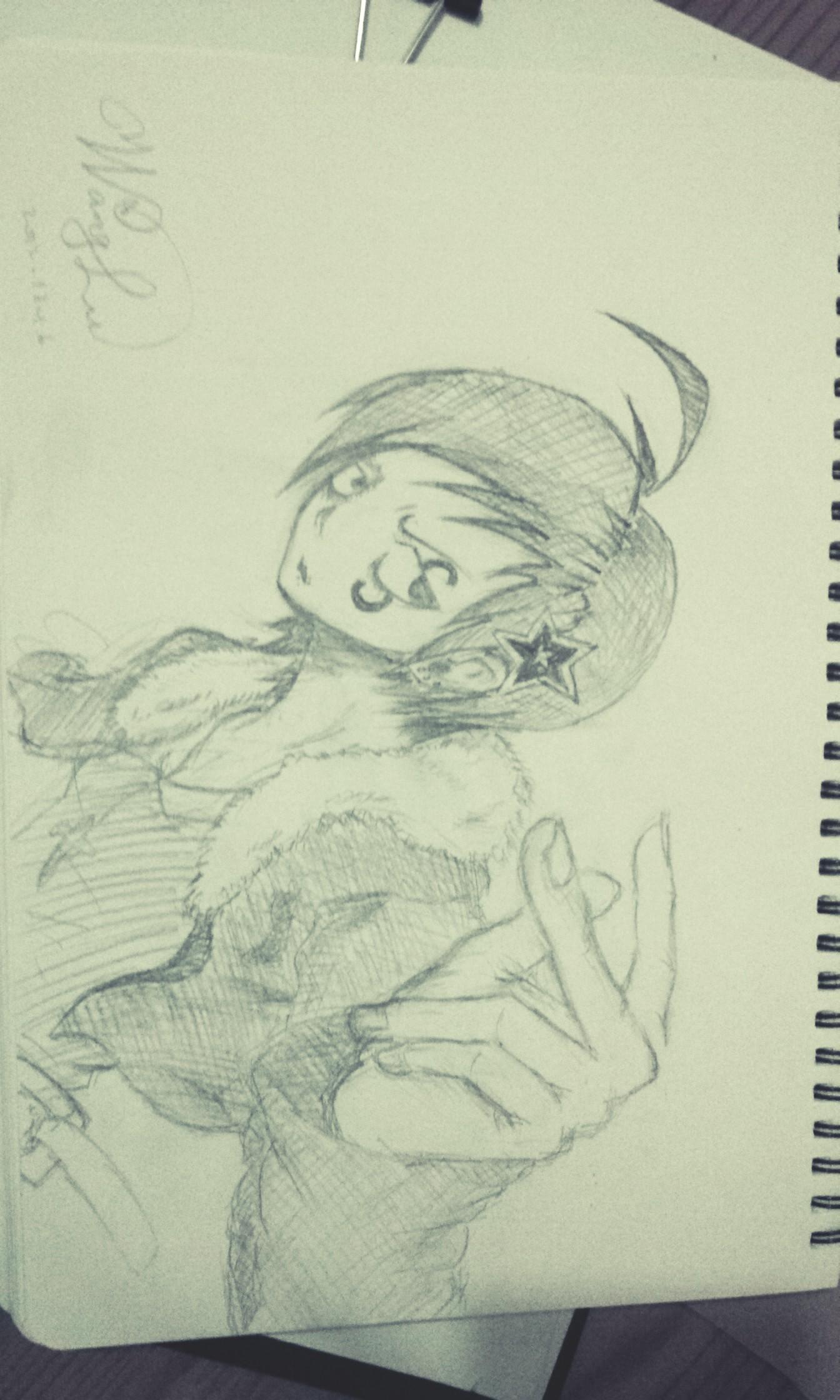 手绘线稿|插画|插画习作|若水以烟 - 原创作品 - 站酷