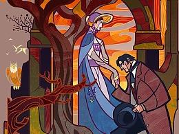 《纸魔法师》系列封面