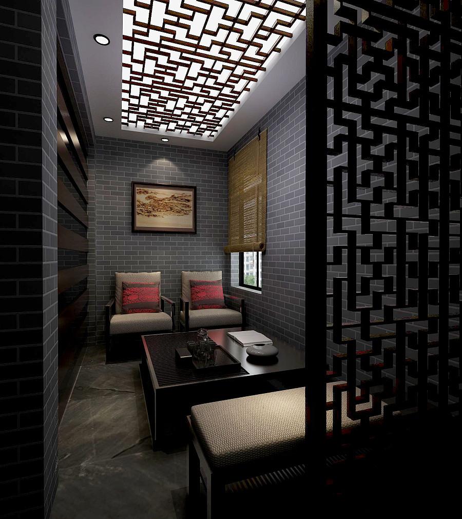 原创作品:中式别墅图片