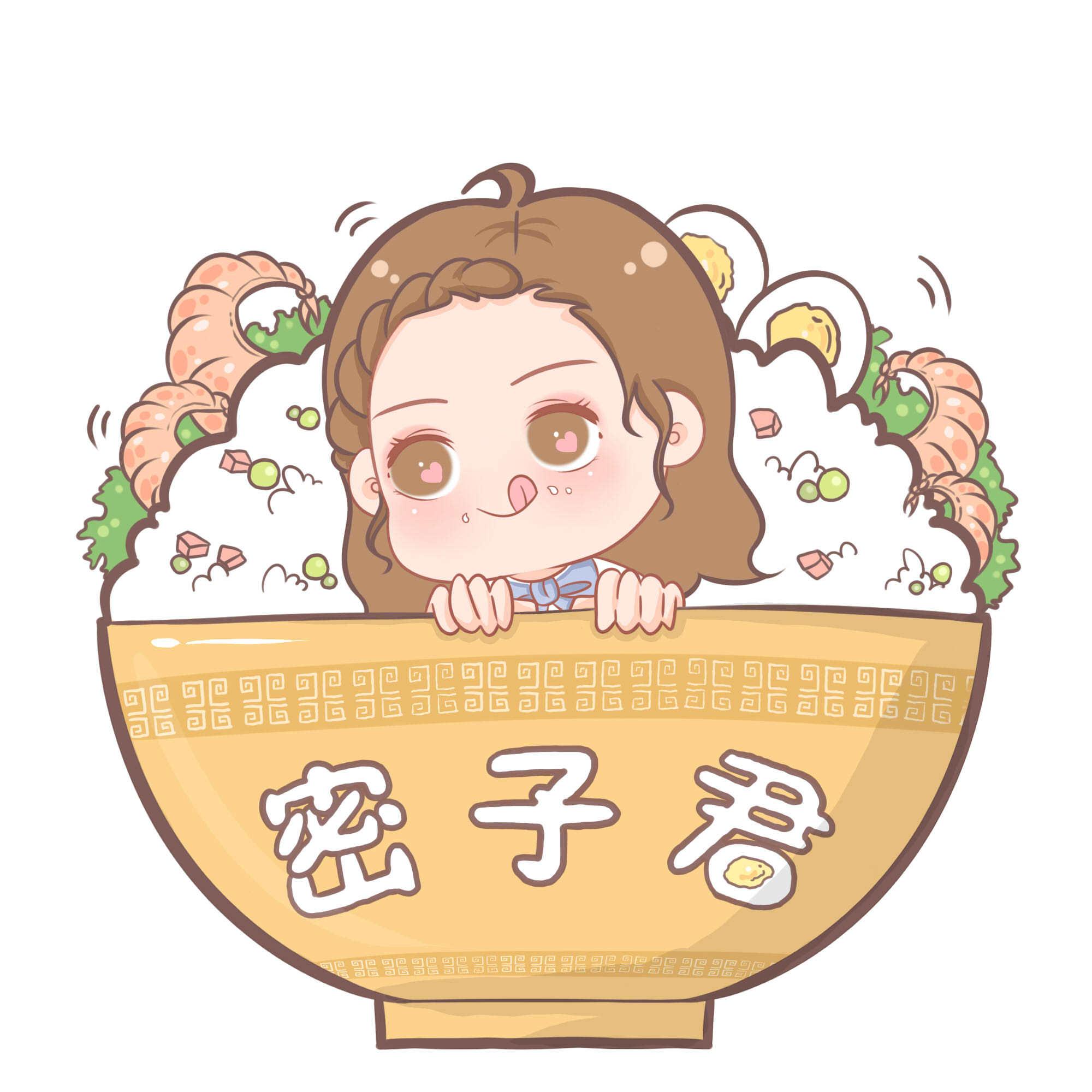 q版人物创作 一颗少女心哦:cherry_blossom