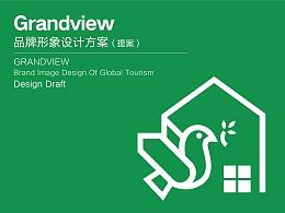 LOGO设计:《Grandview(加拿大)品牌形象设计》