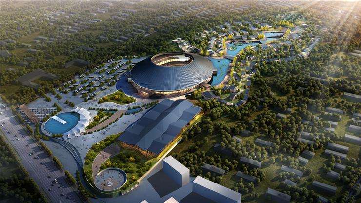 查看《【观光旅游地产规划设计】泰安旅游集散中心》原图,原图尺寸:740x416