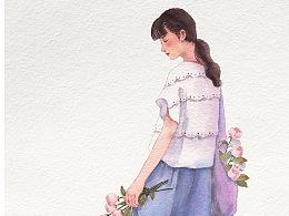 花与少女系列:②