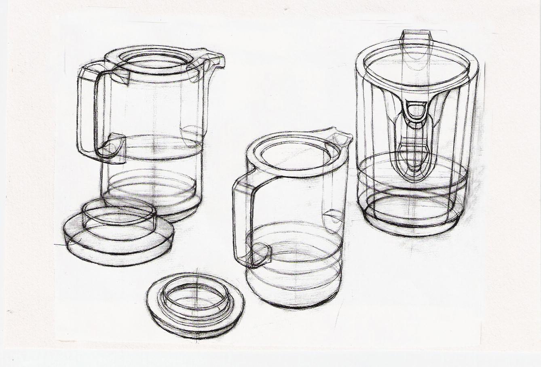 《结构 素描》|插画|商业插画|o_xiaoyu - 原创作品