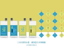 """中国包装之星创意奖优秀奖""""红星二锅头个性小酒设计"""""""