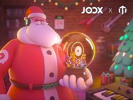 腾讯JOOX • 2019年圣诞节推广视频及周边设计