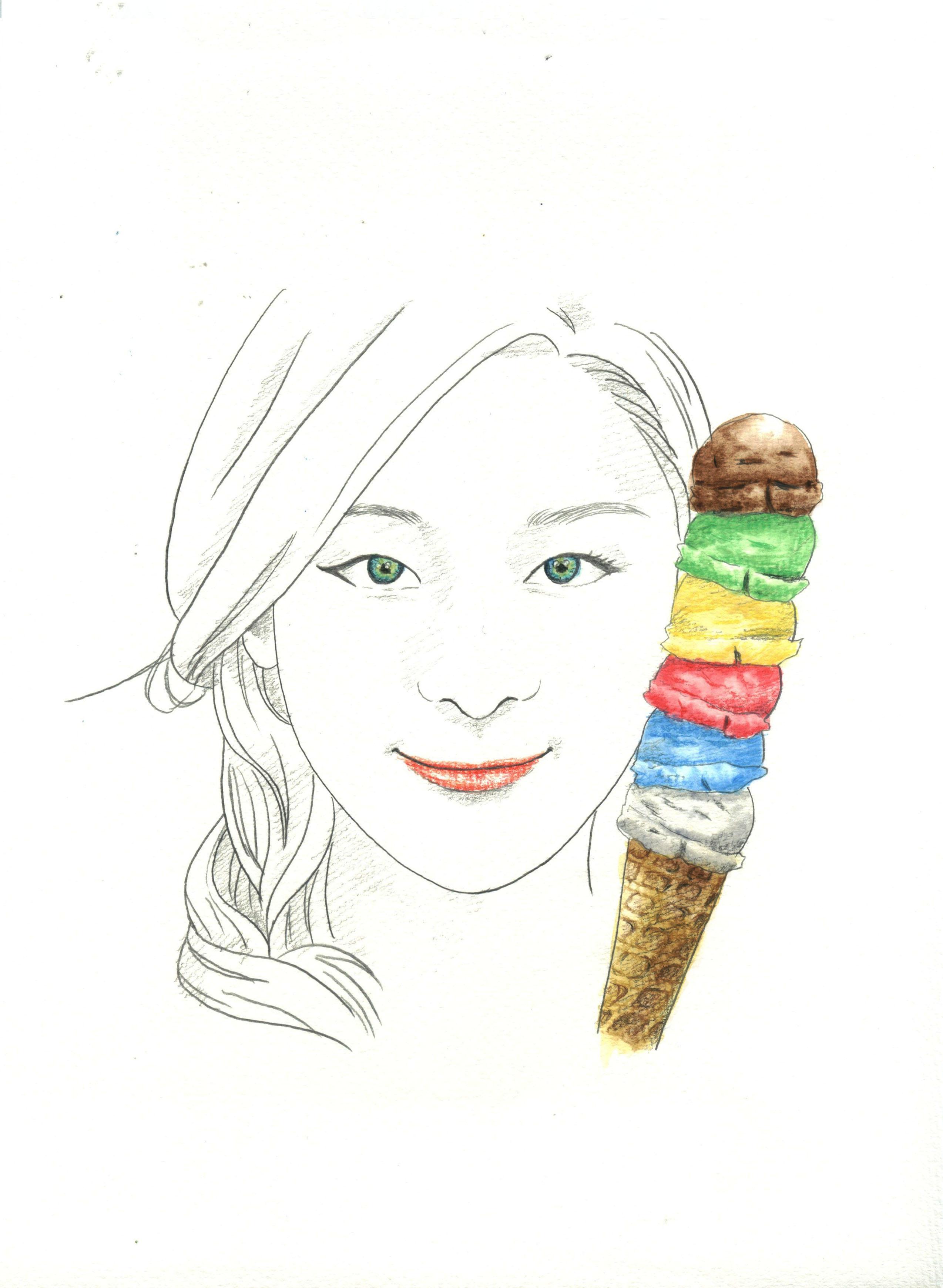 插画手绘人物「cynthia专辑」,图片尺寸:700×1218,来自网页:http