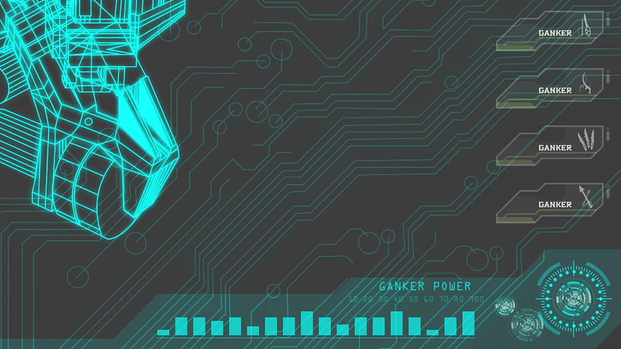酷6网上传视频_GANKER机器人游戏界面开场动画|UI|游戏UI|iamdouble2 - 原创作品 - 站酷 ...