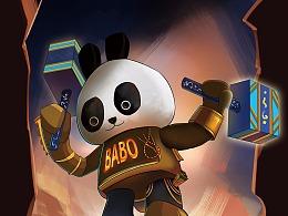 巴布熊猫-小插图