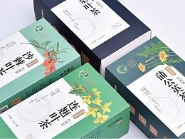 『包装设计-药茶类』宋家沟药茶包装案例