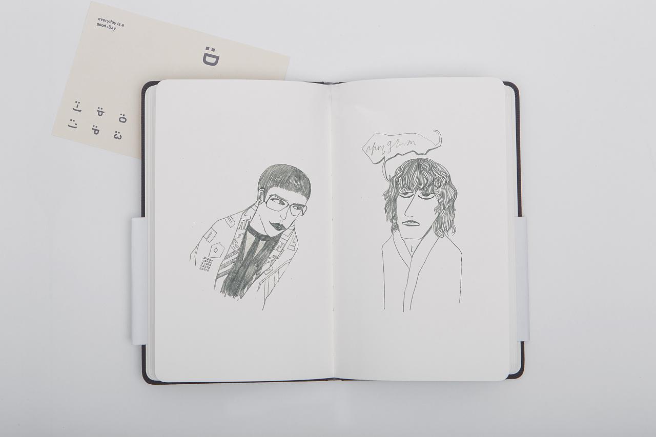 铅笔手绘随笔