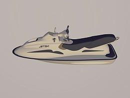 摩托艇  水上摩托 快艇 汽艇 jetski