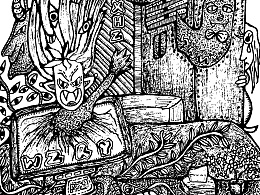 妖鬼怪集画【原创】--【魑魅魍魉】