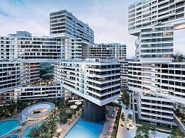新加坡也有奇怪的建筑,用31幢房子搭巨型积木!