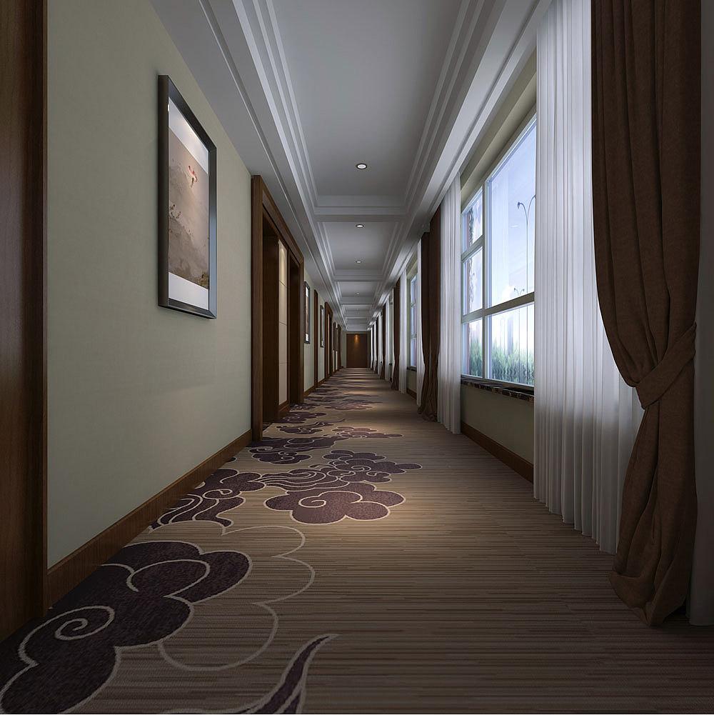 德阳罗江党校酒店商务勘测 罗江酒店装修设计设计院设计济南铁路图片