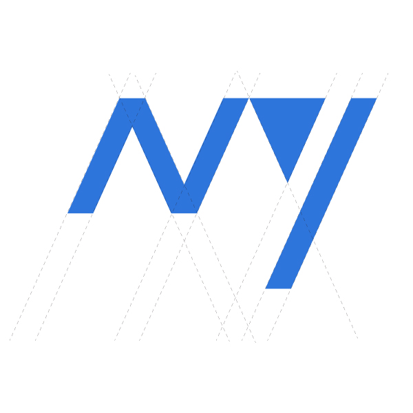 m�)kK.��.Y��_带有m和y字母的logo (科技感)