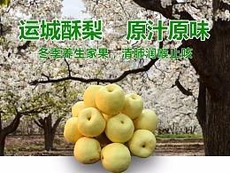 酥梨详情页