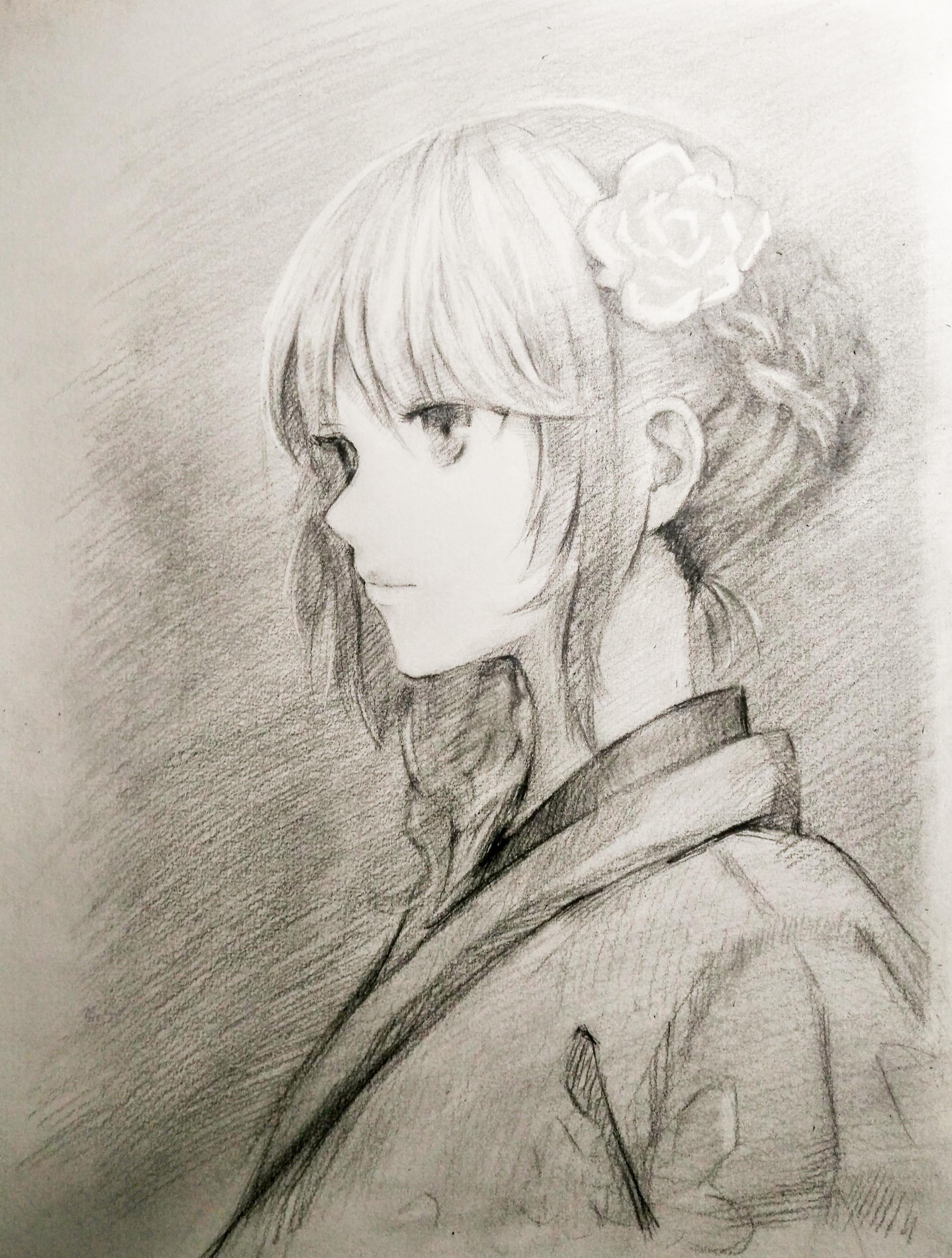 学生时期手绘作品