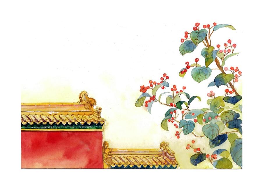 手绘文艺系列——《爱情诗词》