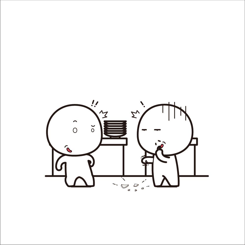 动漫 简笔画 卡通 漫画 手绘 头像 线稿 1001_1001