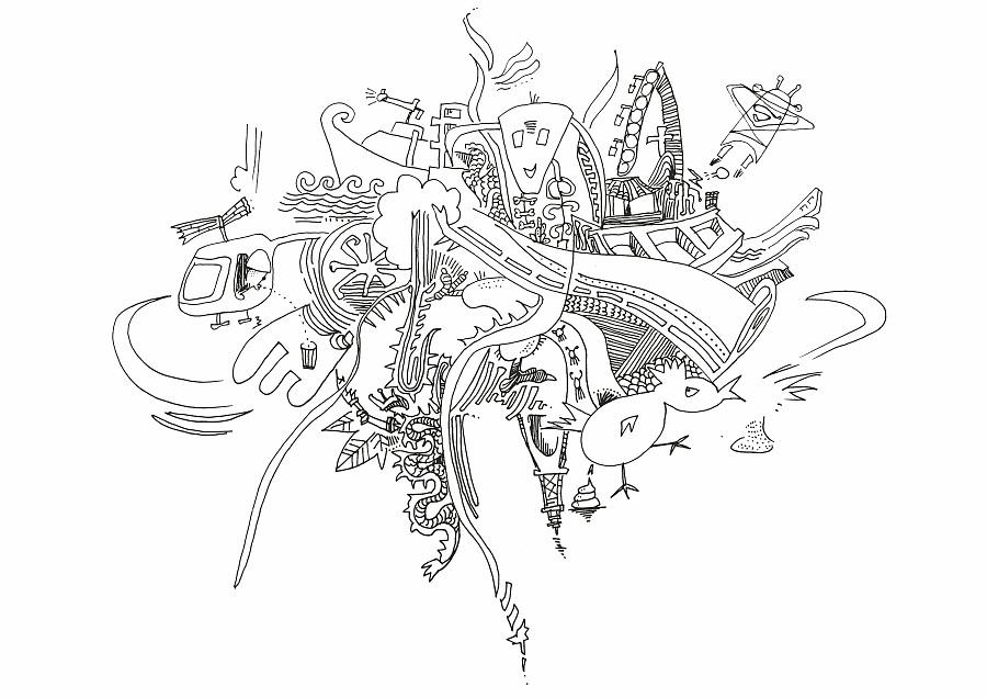 原创性手稿|插画记事|概念|ou_look-设定设计作品v手稿设计图z型图片