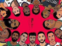 2018-2019 NBA playoff 东西部巡礼