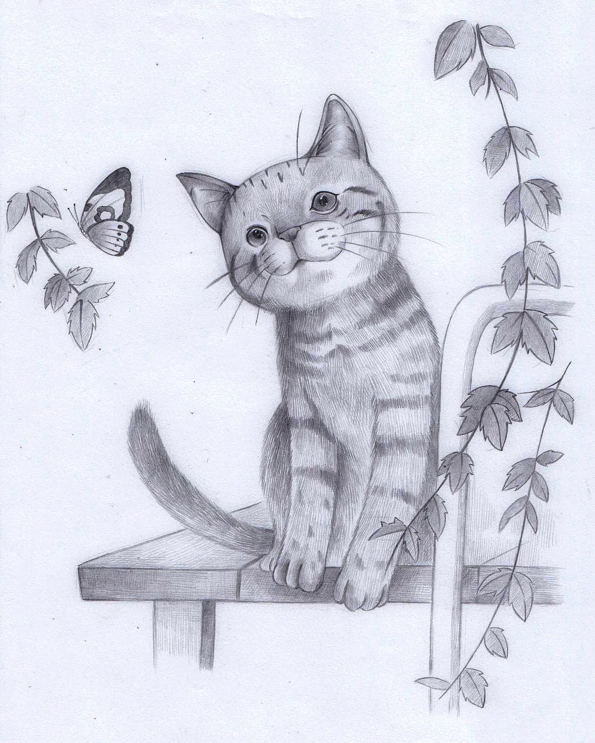 铅笔画|动漫|单幅漫画|很喜欢画画的星星 - 原创作品