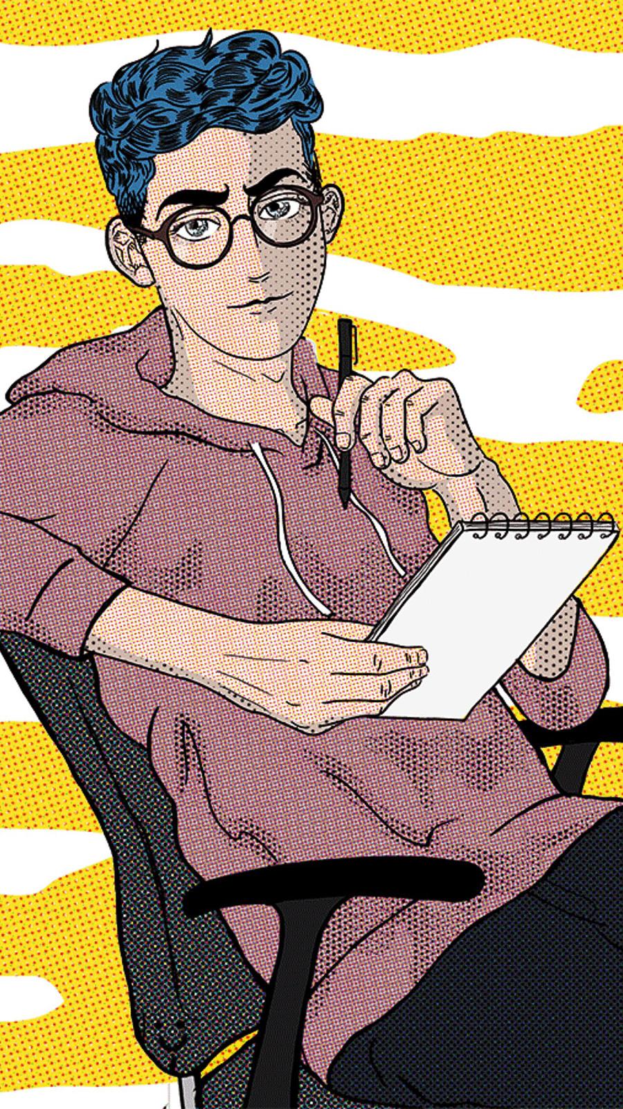 转自yoho!boys app 像素画 插画 麦田守望可 - 原创图片