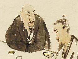 中国画的精髓在于笔墨 墨分五色