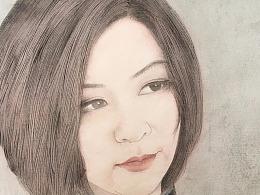 姜伟最新人物画作品