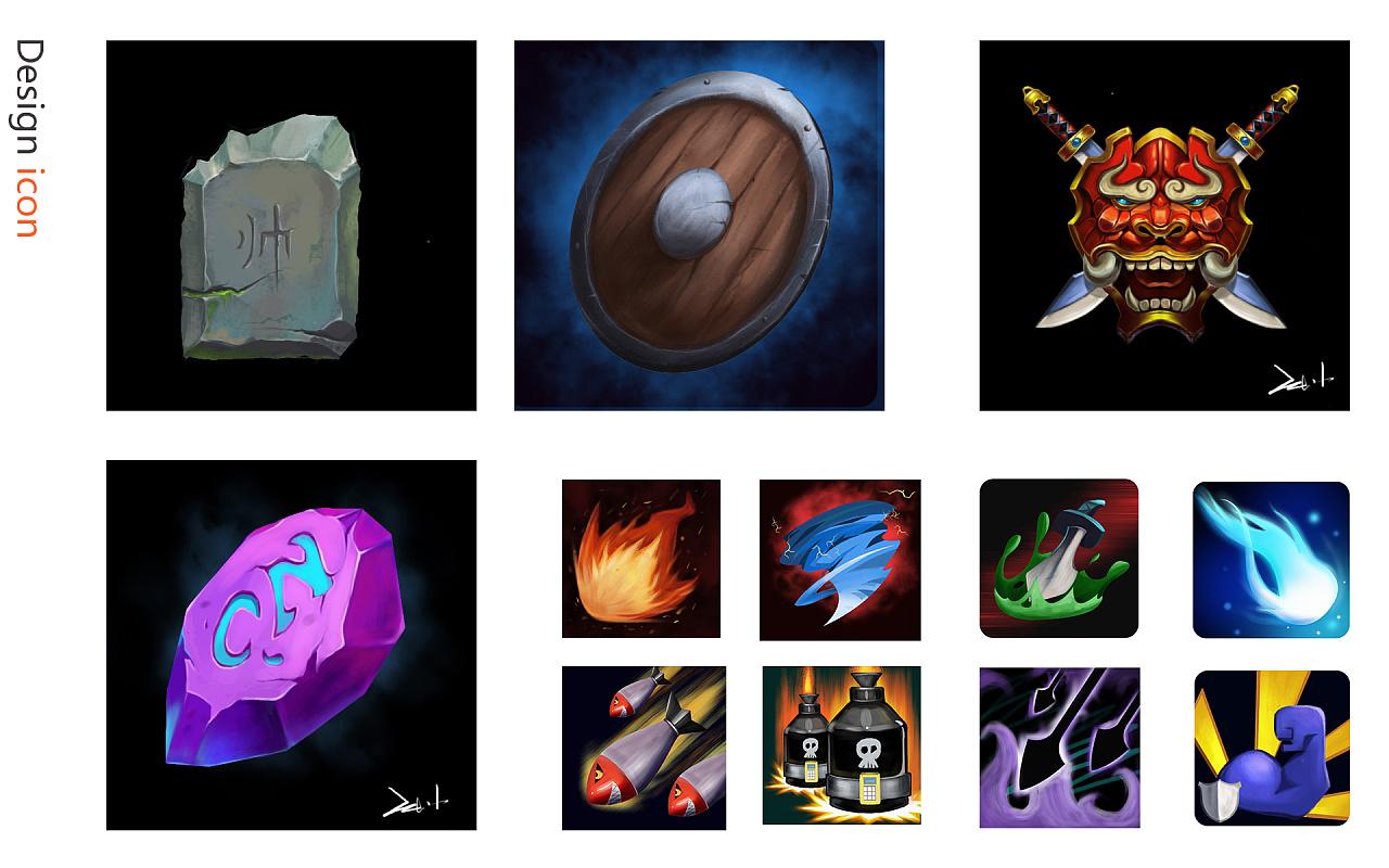 游戏技能徽章设计